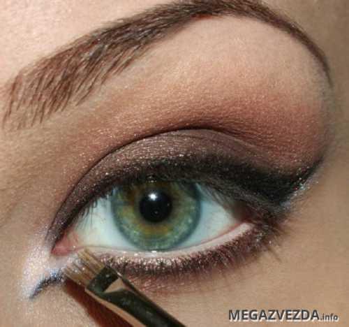 дымчатый макияж глаз smoky eyes смоки айс пошаговая инструкция